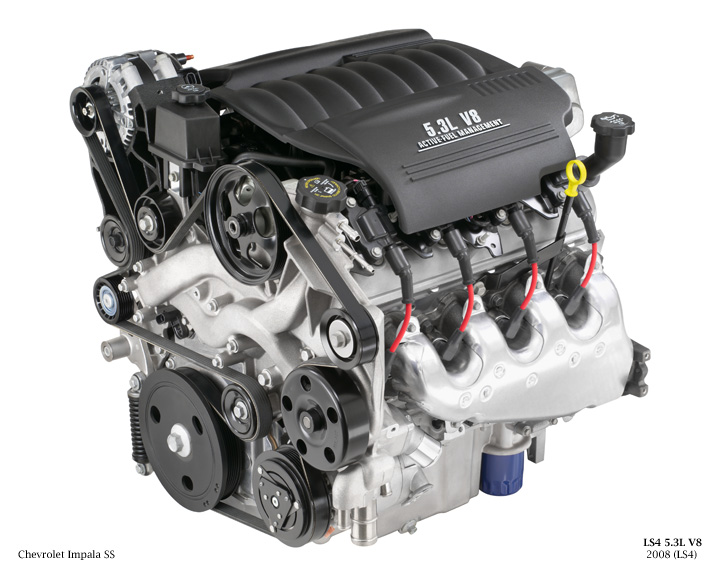 chevy 5 3l Motor diagram