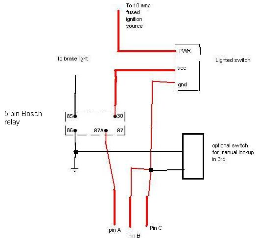 LOCK UP CONVERTER WIRING DIAGRAM HOT ROD - Auto Electrical Wiring