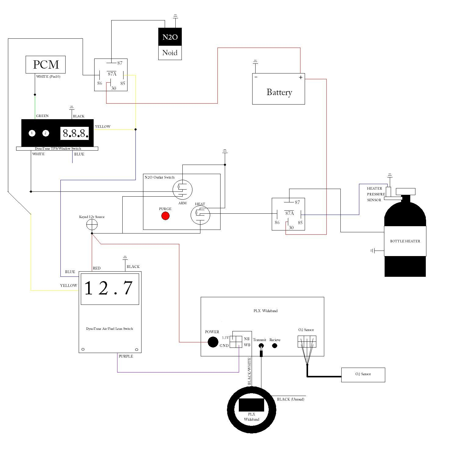 nitrous outlet wiring diagram