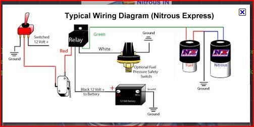 Wilson Nitrous Wiring Diagram Nitrous Oxide Wiring Diagram Free