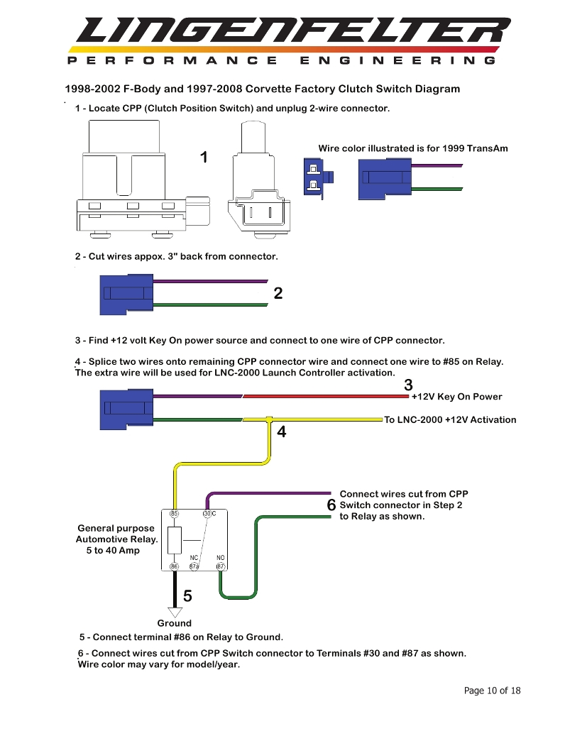 Msd 6010 Wiring Diagram Auto Electrical General Purpose Relay 2 Step 6 Diagrams