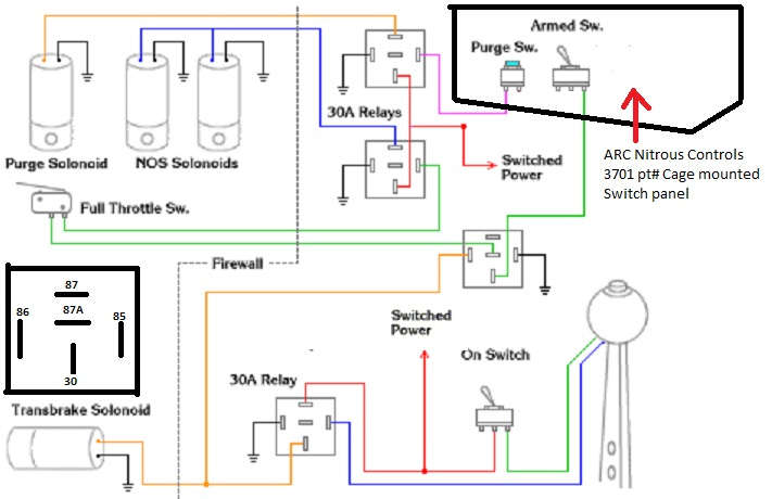 nos relay wiring diagram nitrous relay wiring diagram nitrous image