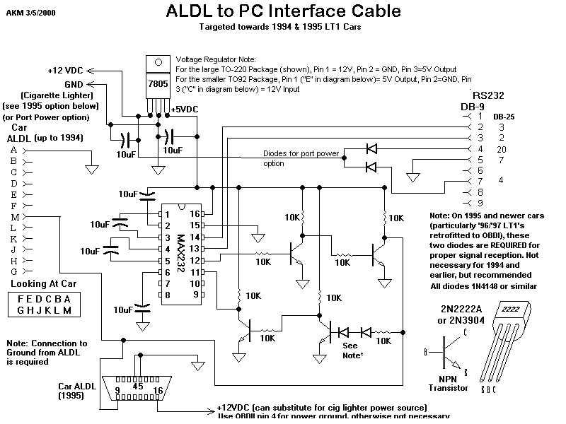 Gm Aldl Wiring Diagram - Wiring Diagram Progresif