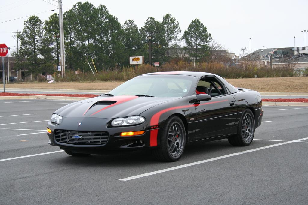 Black Camaro with OEM C5 Z06 wheels - LS1TECH - Camaro and Firebird