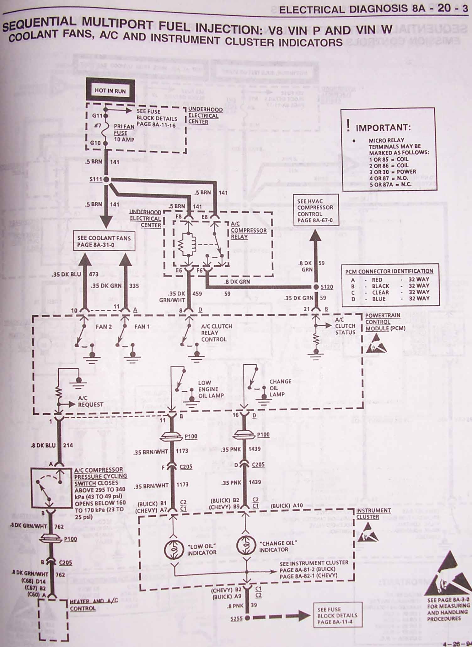93 firebird lt1 starter wiring diagram