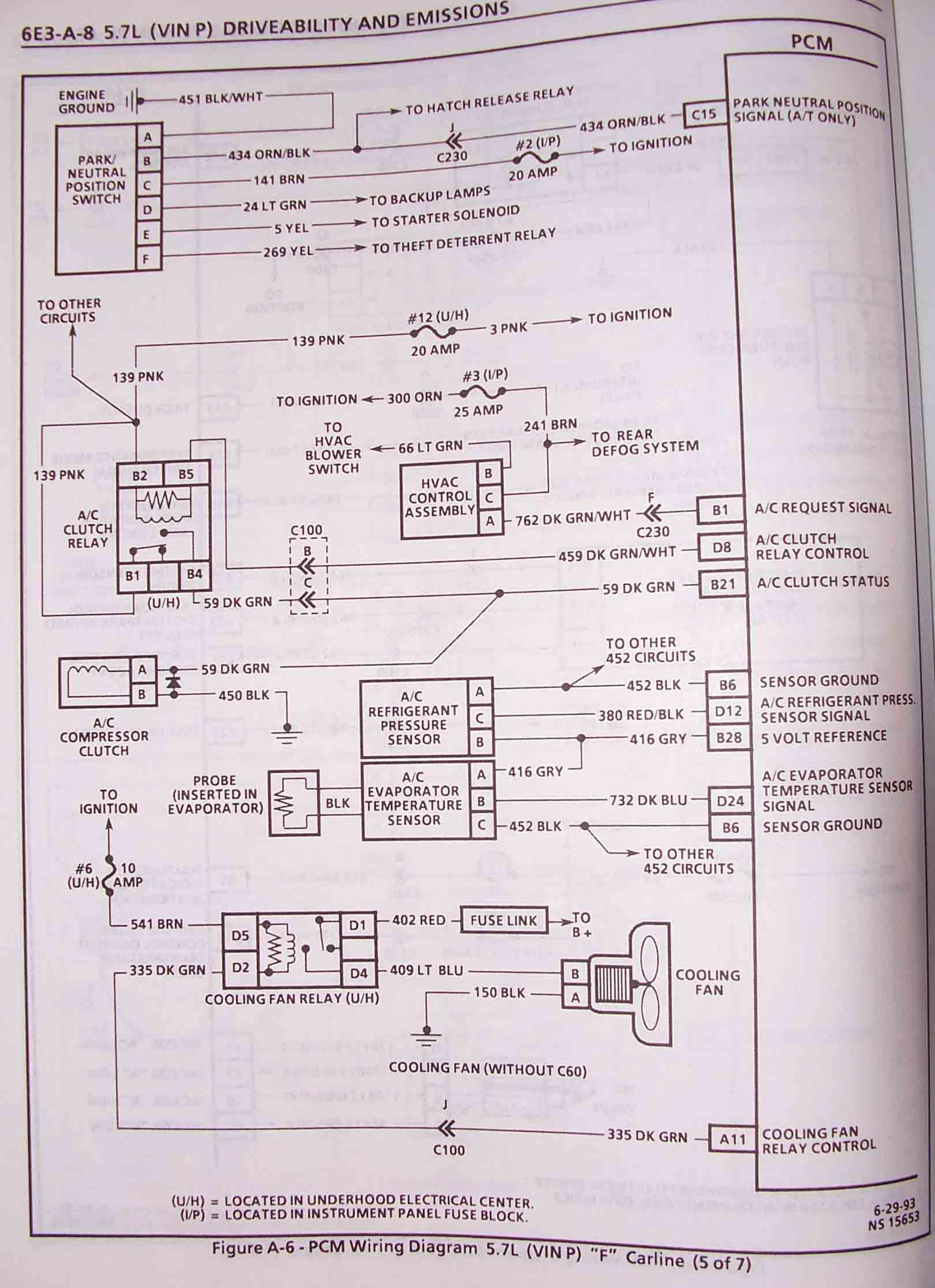 94 lt1 pcm wiring diagram