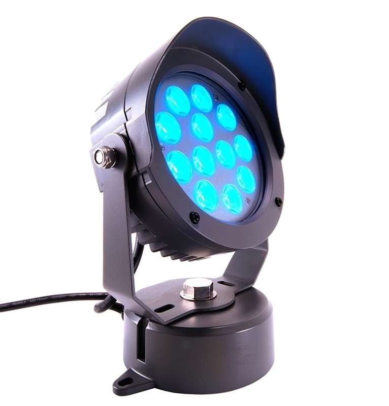Kapegoled Led Power Spot 24 Volt 18 Watt Rgb Led Outdoor