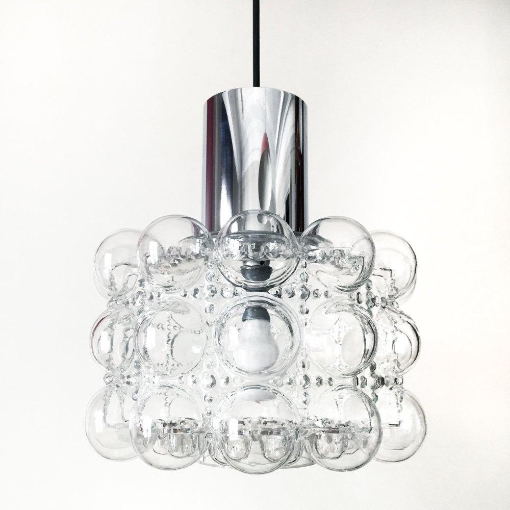 suspension helena tynell, verre à bulle. Luminaires vintage ltgmood.com