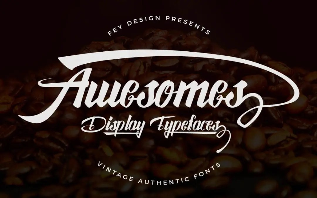 Awesome Display Free Font For Designers - Joomla and Wordpress themes