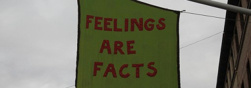 Feelings are facts, by wrote, CC BY 2.0
