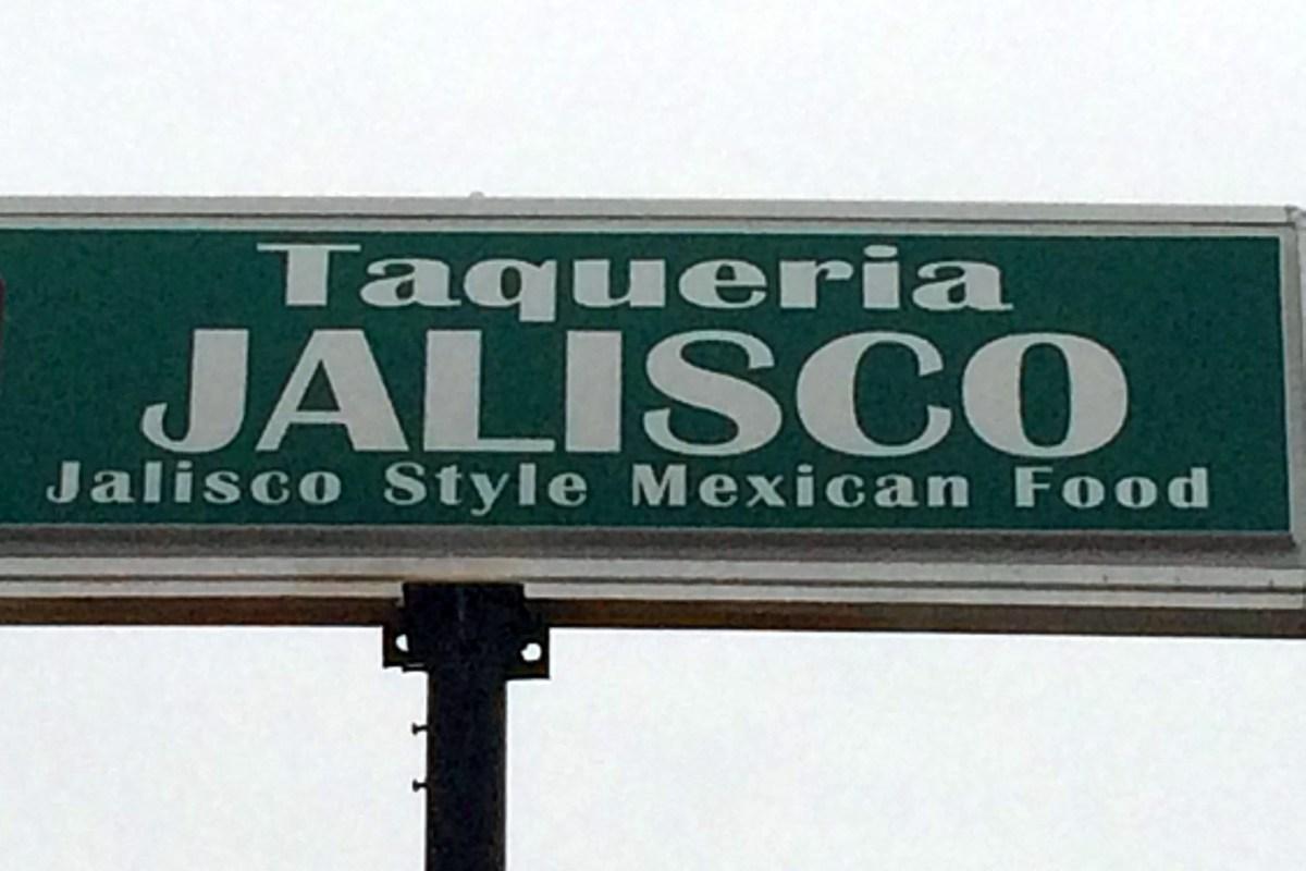 Taqueria Jalisco Menu - Lamesa