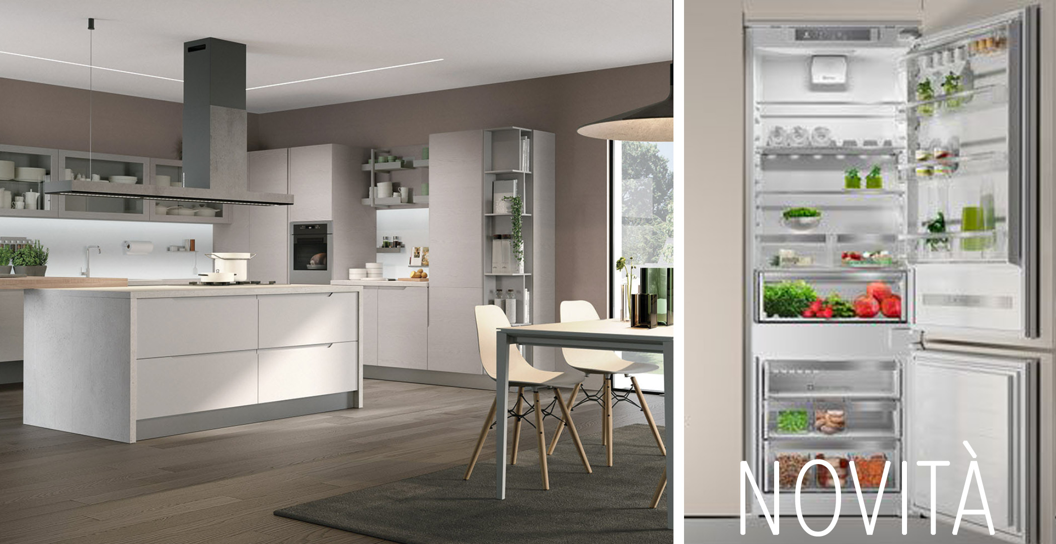 Cucina Lube Modello Clover | Outlet Cucine Firmate Interesting ...