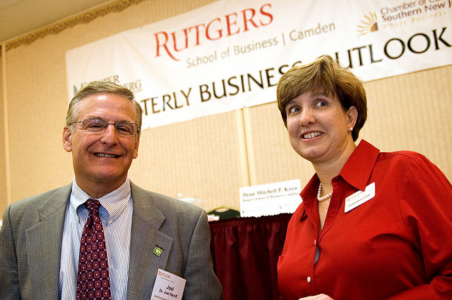 Joel Naroff and Samantha Collier, Rutgers Quarterly Business Outlook, October 2008