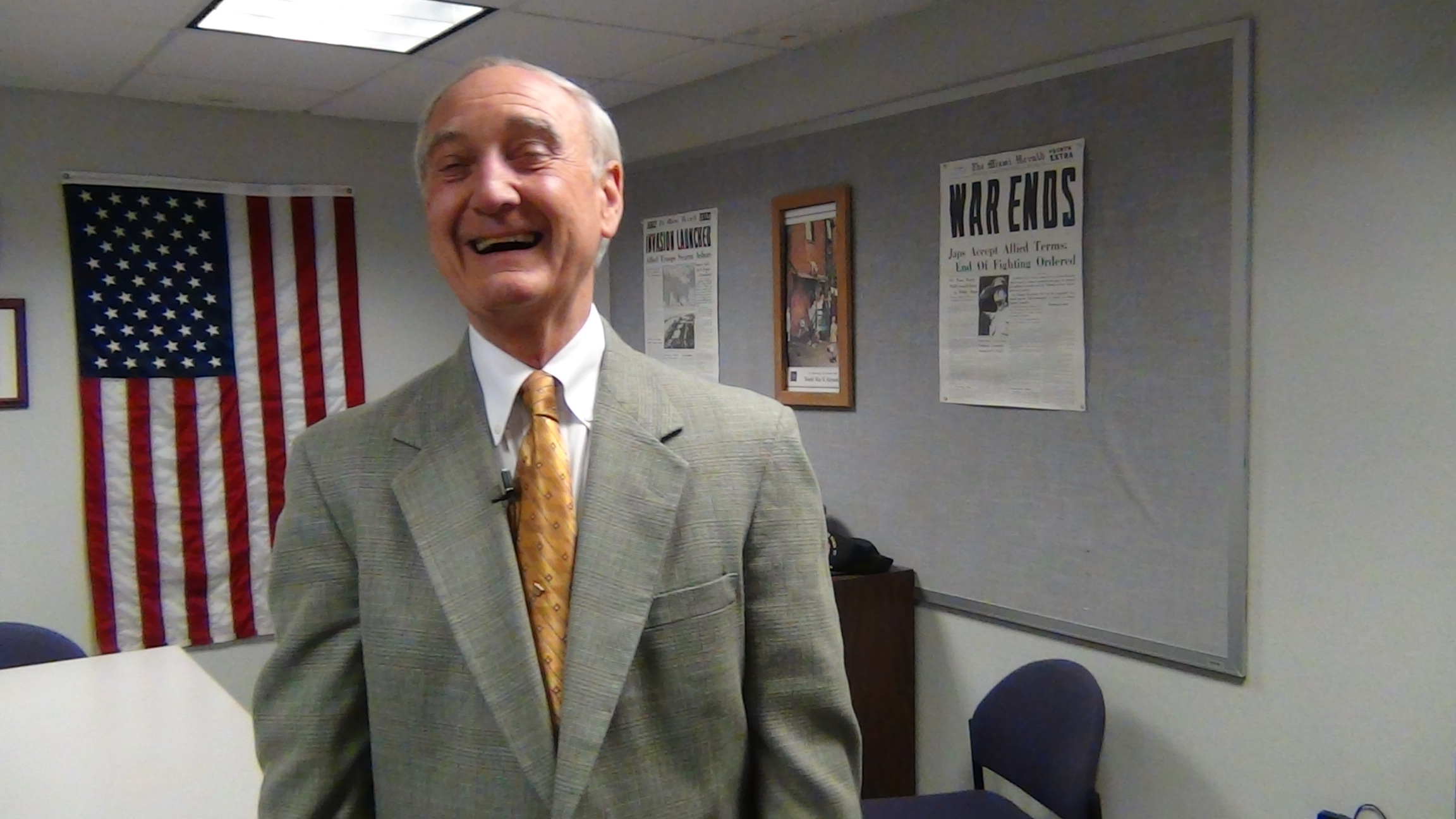 Center for WWII Studies Director, Prof. Paul Zigo