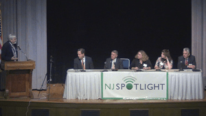 Second panel of the NJSpotlight Infrastructure Conference gets underway, with Tom Johnson moderating.