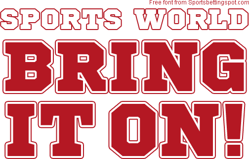 free athletic fonts
