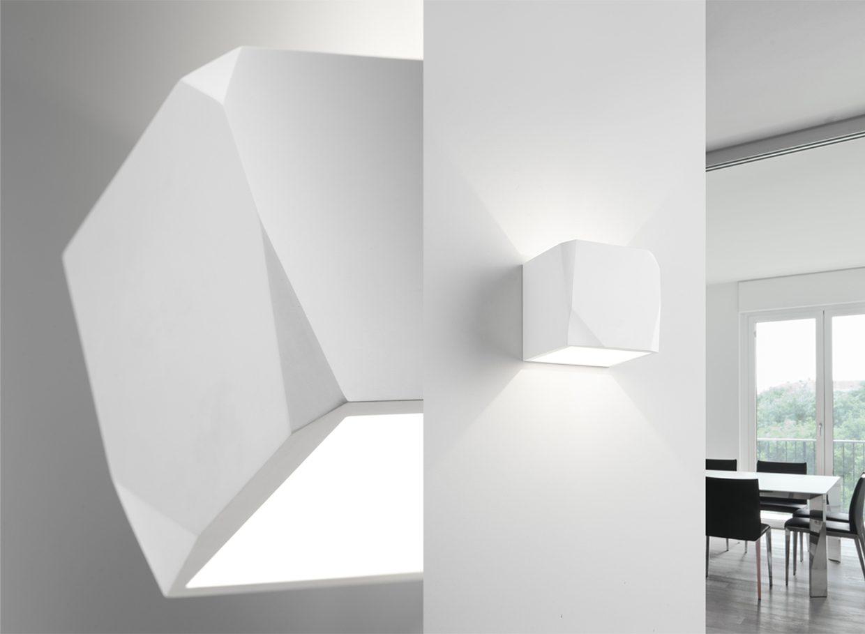 Applique di gesso da parete applique da parete interni design