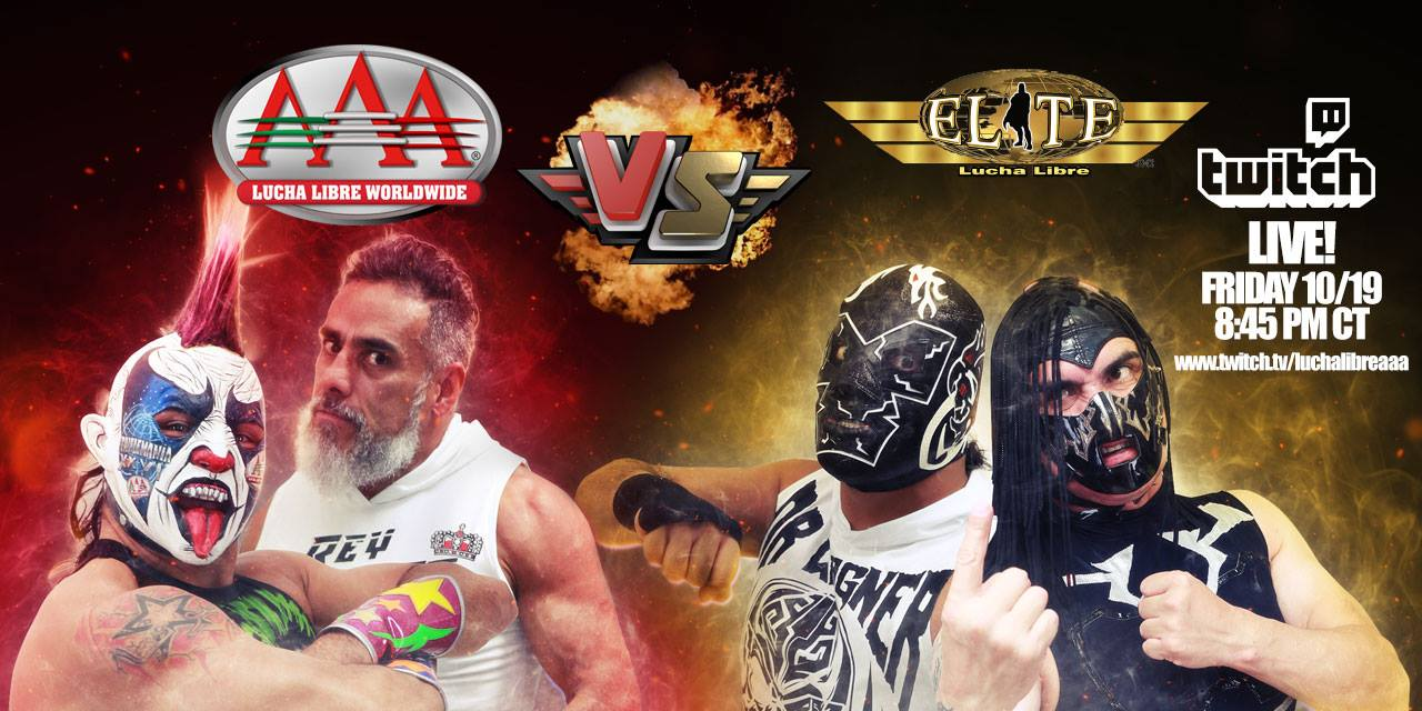 Vidios De Lucha Libre Video Aaa Vs Elite Desde Naucalpan Suscriptores Twitch