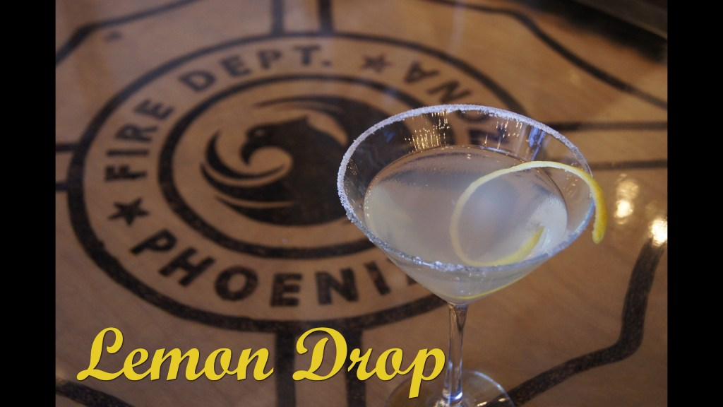 Lemon Drop with Words