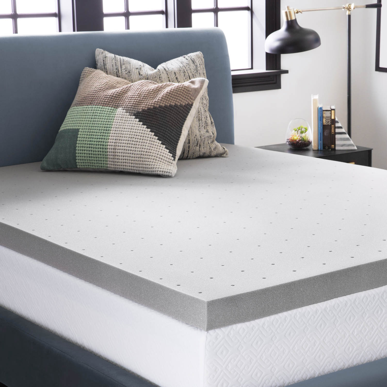 Bedroom Mattress Memory Foam Latex Hybrid Mattresses Lucid