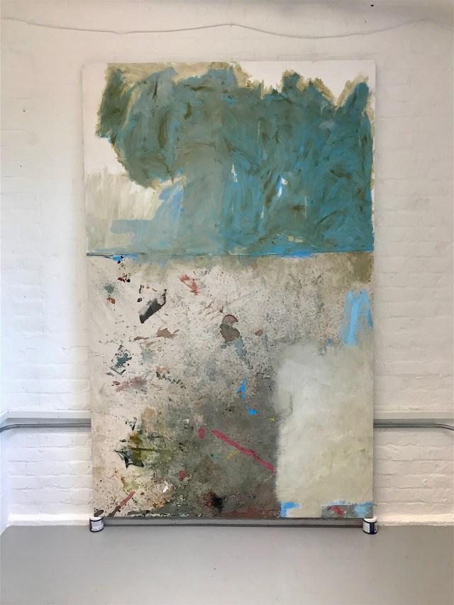 Vertigo 2_acrylic on raw canvas_145(w)x235(h)_2017