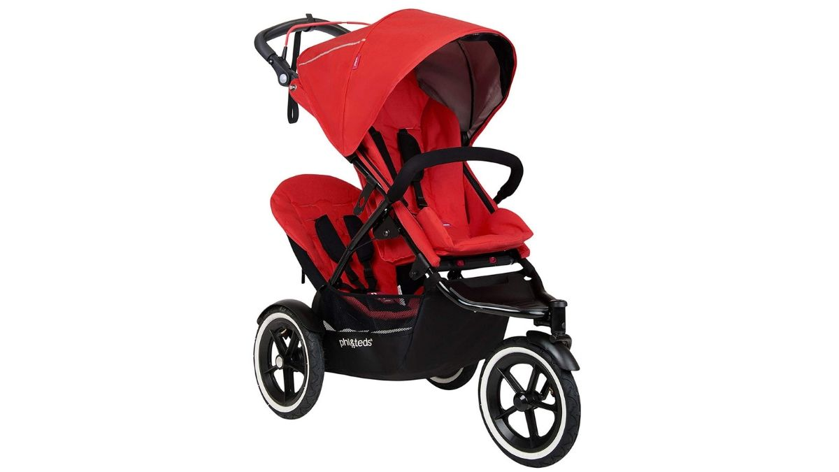 3 Wheel Buggy Vs 4 Wheel Phil Ted S Inline Double Strollers Are Sporty Easy To