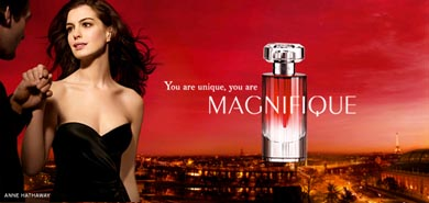 Lucire 2008 beauty | Anne Hathaway in Lancôme Magnifique advertising