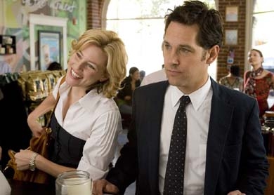 New L'Oréal spokeswoman Elizabeth Banks and Paul Rudd in Role Models