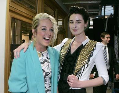 Hayley Scanlan and Erin O'Connor