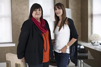 Margareta van den Bosch and Tamara Mellon
