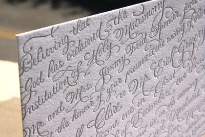 Spencerian With A Twist Lucky Luxe Couture