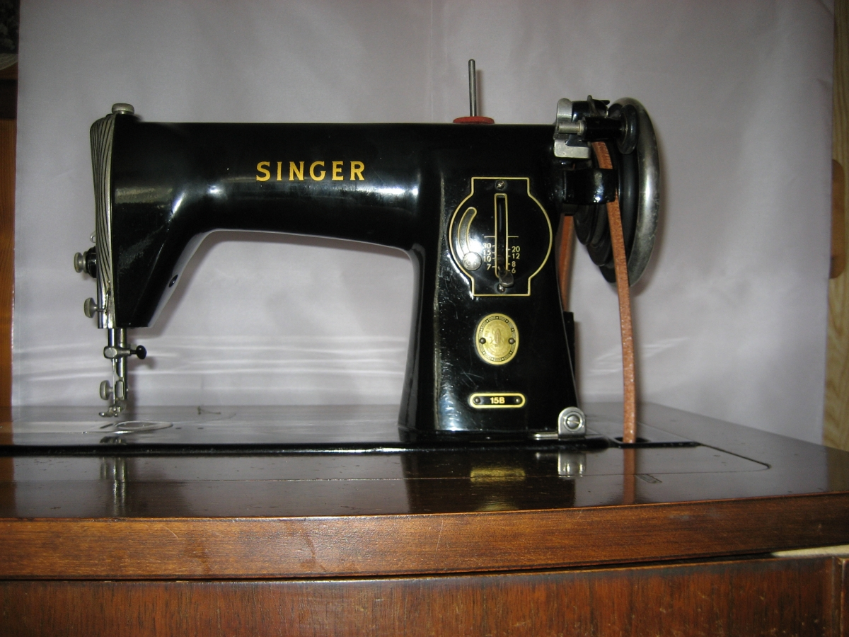 Meuble Art Deco 1930 Ancienne Machine A Coudre Singer – Luckyfind