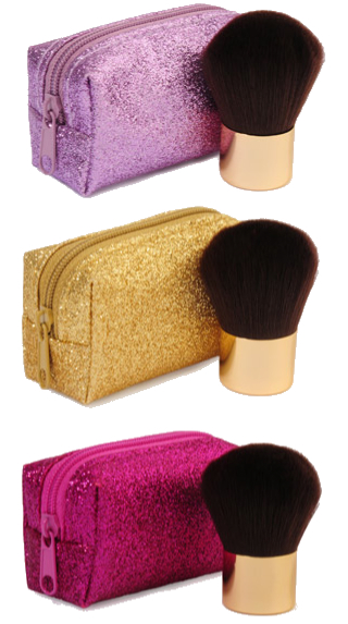 mini blush brush