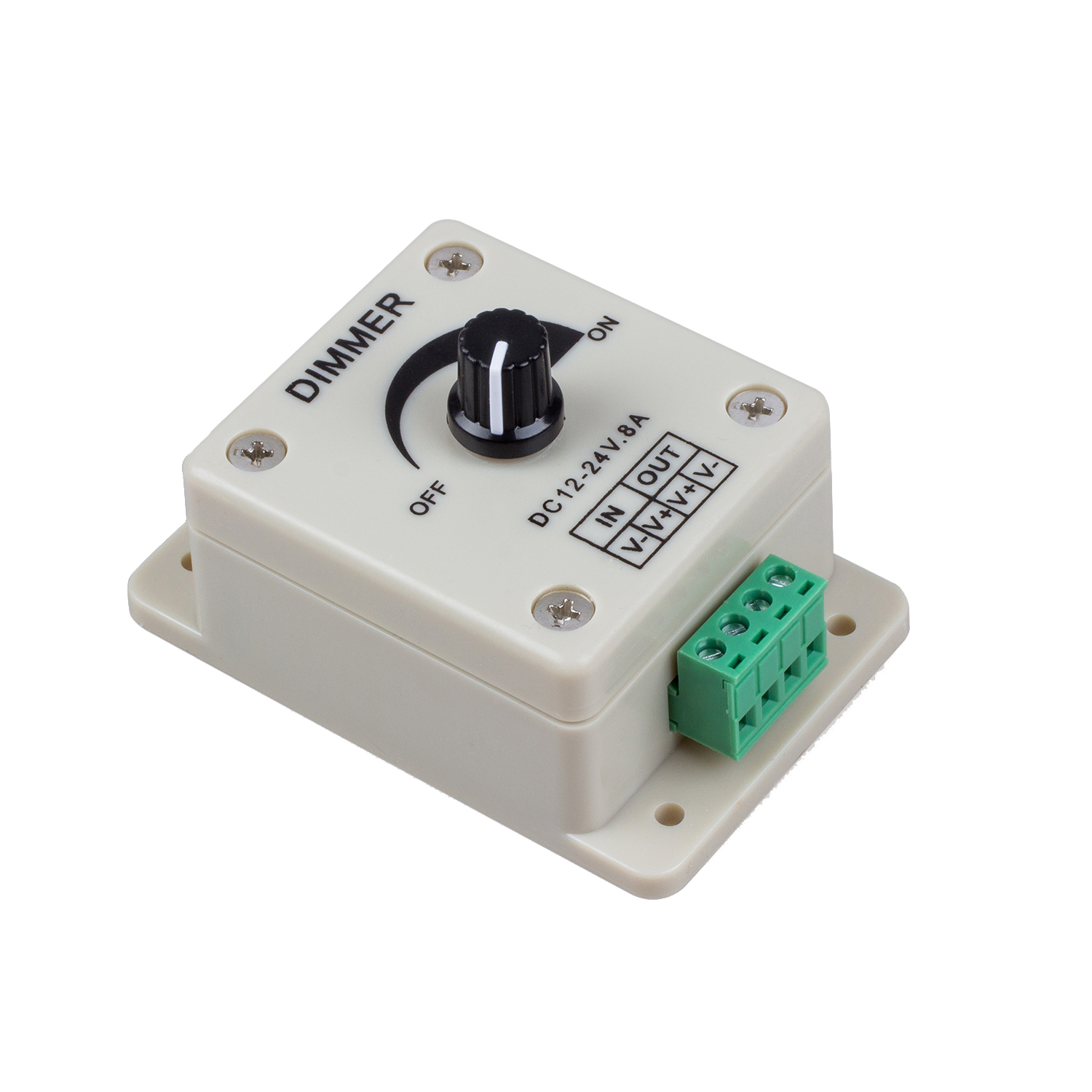 Pwm Dimmer Pwm Dimming Controller For Led Lights Ribbon Strip 12 24