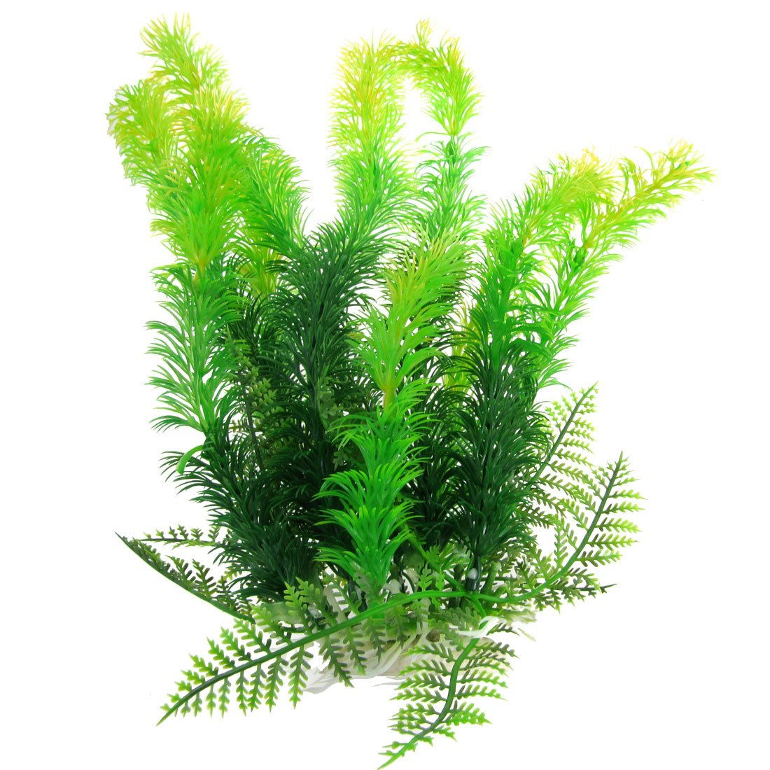 Lifelike Plants Aquarium Ceramic Base 9 8 Quot Height Plastic Aquatic Plant
