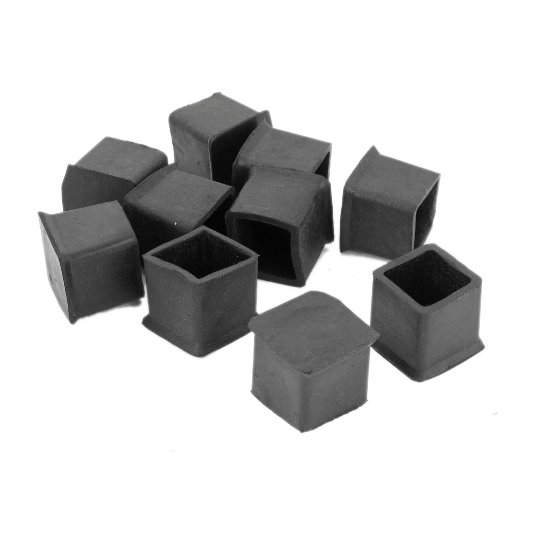 Furniture Chair Leg Protectors 10 Pcs Rubber 25mm X 25mm Furniture Chair Legs Covers