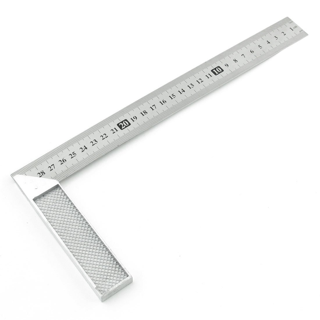 30cm 30cm Stainless Steel Right Measuring Angle Square Ruler T8