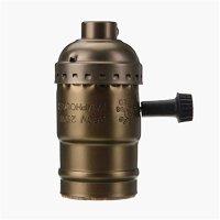 Edison Vintage Lamp Base Socket Holder adapter E27 Screw ...