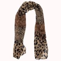 Women Soft Wrap Shawl Animal Print: leopard Scarves Stole ...
