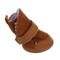 Warm Walking Cozy Pet Dog Shoes Boots Clothes Apparel 3 ...