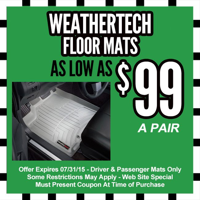 weathertech coupons september 2018