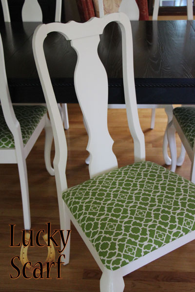 Recovered Chair/Jonathan Adler Style!