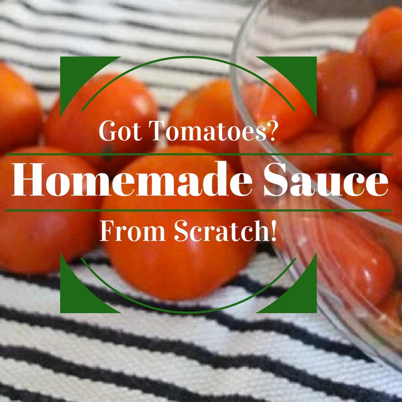 how to make homemade sauce