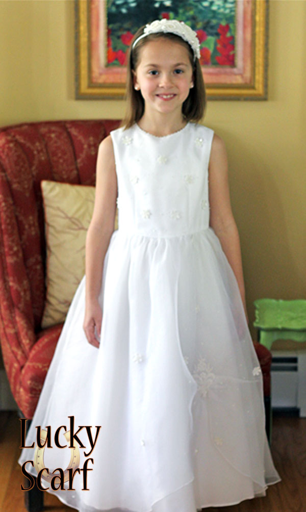 First Communion Dress/Front