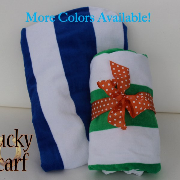 Striped Beach Towel From LuckyScarf.com