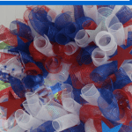 Tutorial Time!  A DIY Patriotic Wreath