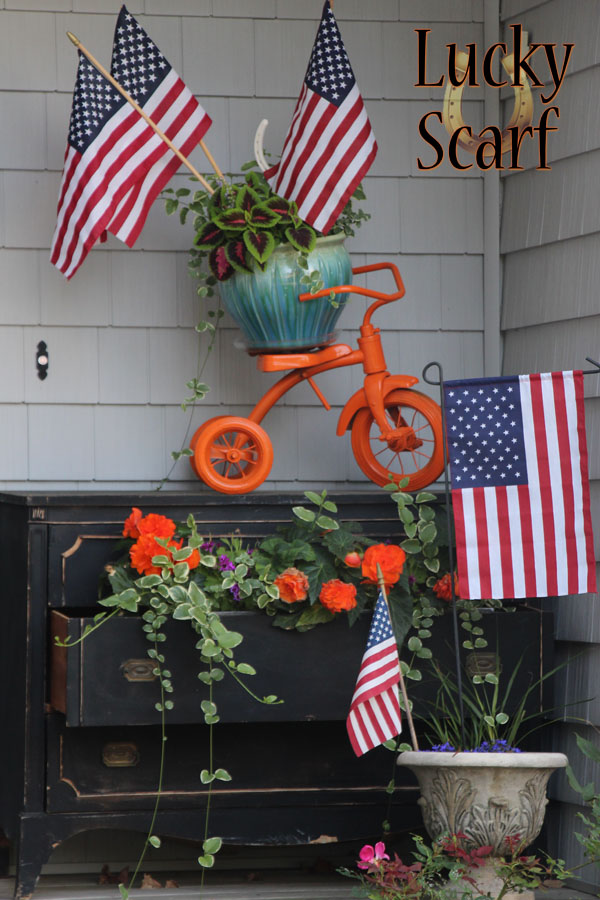 Patriotic Porch Update