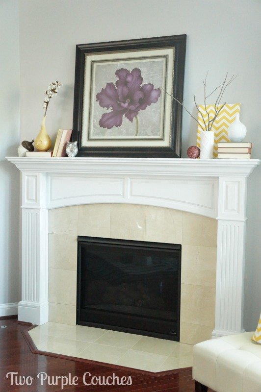 Modern-Fall-Mantel-Two-Purple-Couches