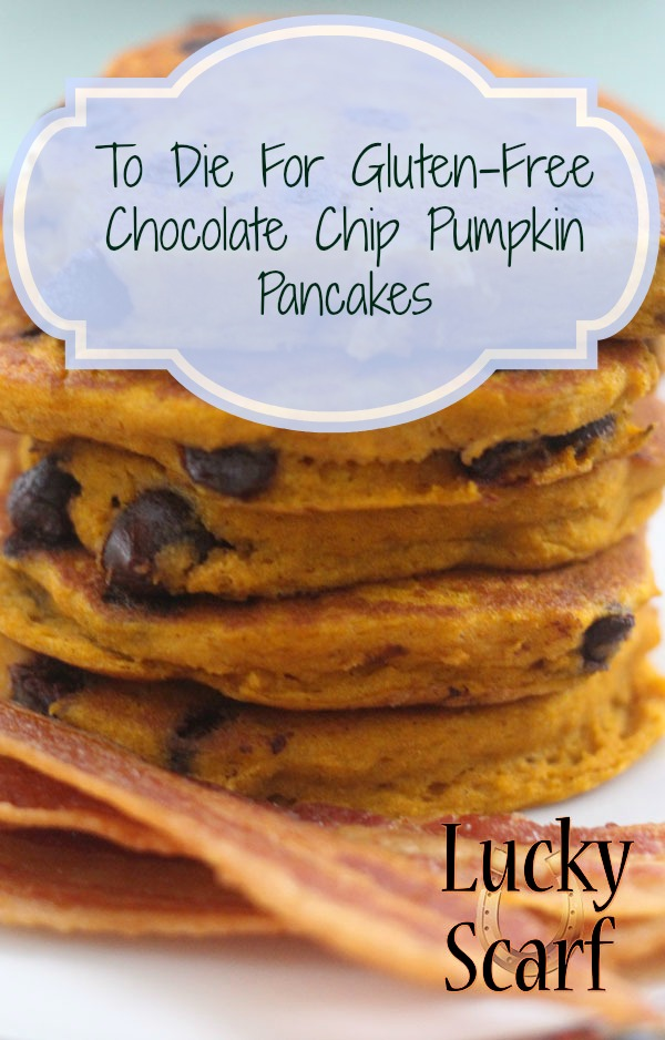 Gluten-Free Pumpkin Chocolate Chip Pancakes