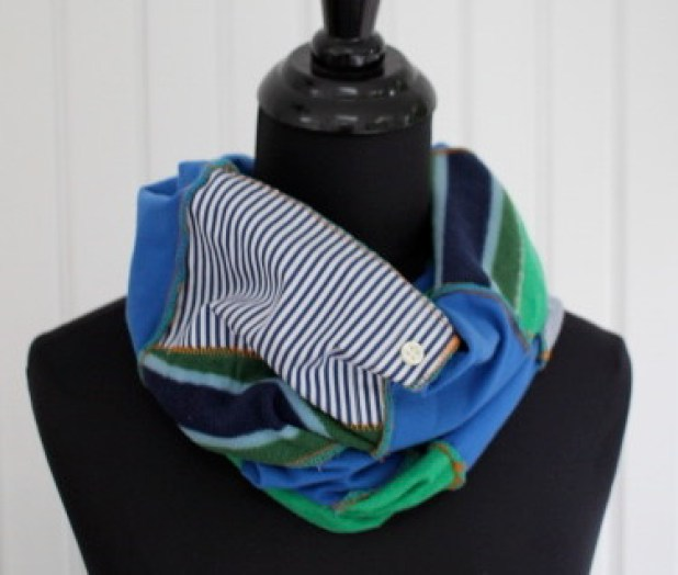 Upcycle Scrappy Scarf
